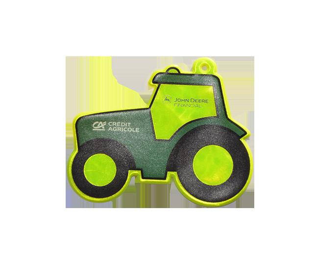 zawieszka odblaskowa traktorek