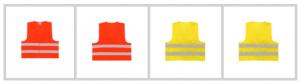Kamizelki odblaskowe to jeden z wymogów przepisów ruchu drogowego dla rowerzystów poruszających się po zmierzchu poza terenem zabudowanym.